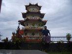 Китайский (буддийский) храм в Соронге, не посещаемый почти никем