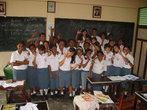 После лекции АВП в христианской школе