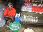 Продавец дождевой воды