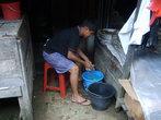 Производство этого продукта (дождевой воды)