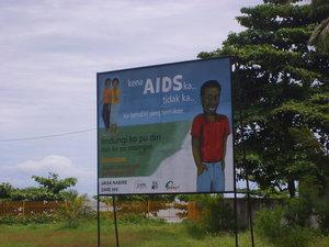 Остерегайтесь СПИДа!