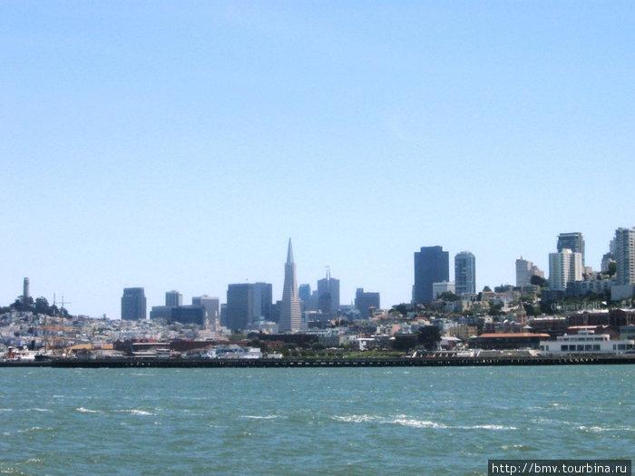 Сан-Франциско с моря.