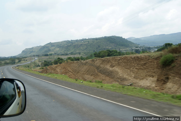 дорога из Найроби в Накуру