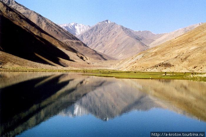 Озеро Анджуман. Северный Афганистан Khwahan, Афганистан