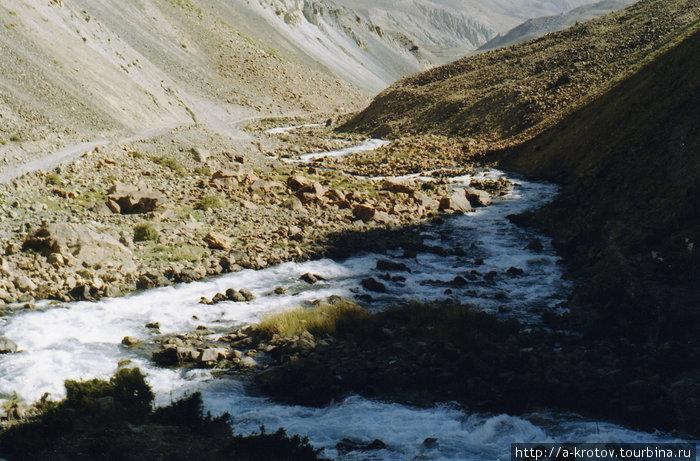 Из Панджшера=спуск с пер.Анджуман в Афган.Бадахшан Khwahan, Афганистан