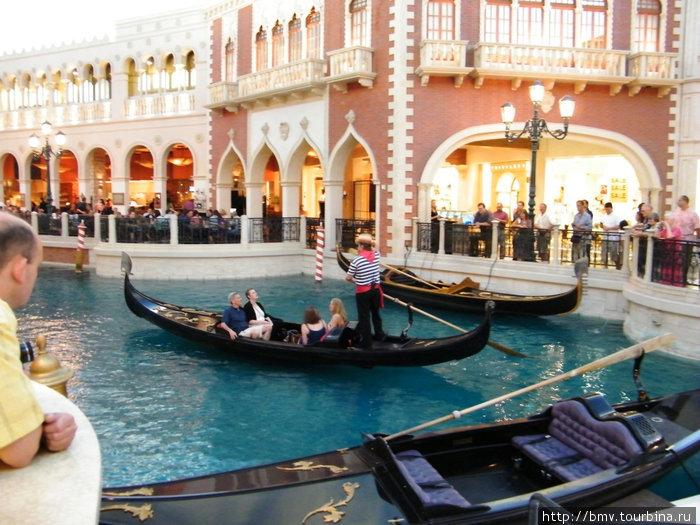 Лас-Вегас. Отель Венеция.