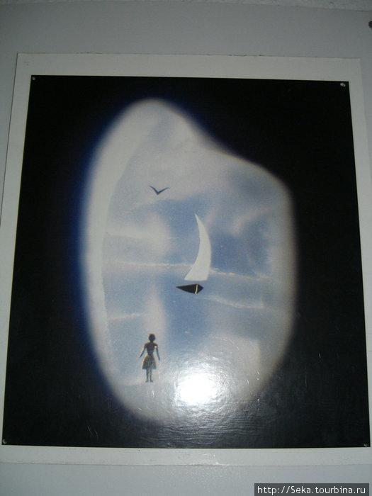 Фотография одного из экспонатов.