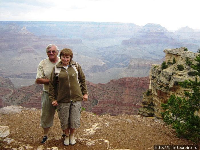 Новый вид на Гранд каньон.