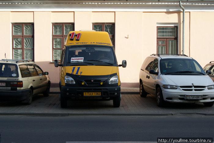 маршрутное такси Брест, Беларусь.