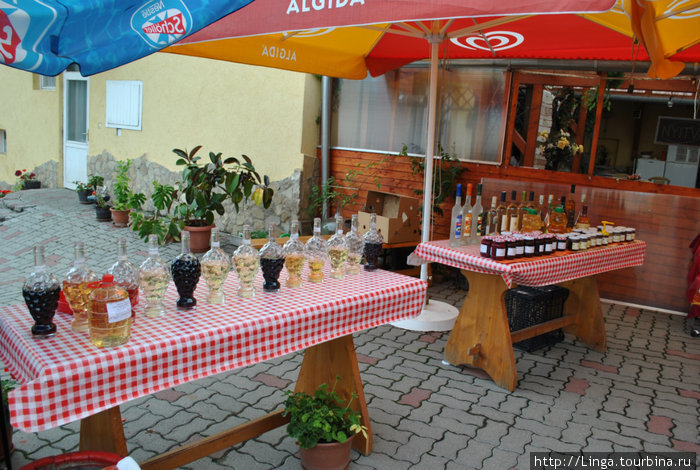 Столы для дегустации вина