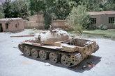 Вся дорога от Саланга вниз была уставлена б.у.шными танками