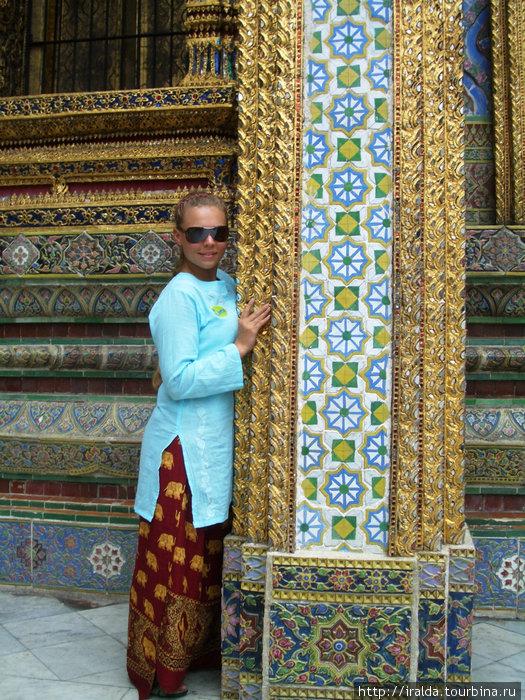 Bangkok (Бангкок). В  Большом Королевском Дворце