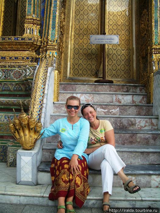 Bangkok (Бангкок).В Большом Королевском Дворце