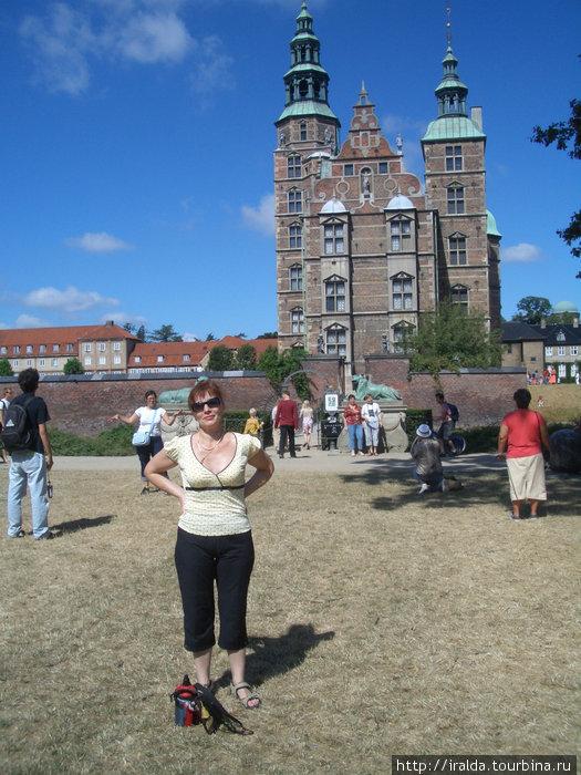 Замок Розенборг. Копенгаген