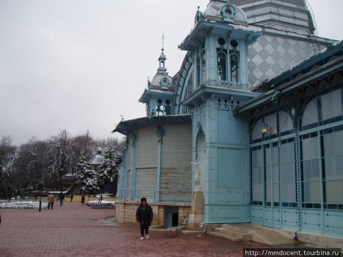 Железноводск в ясную и пасмурную  погоду Железноводск, Россия