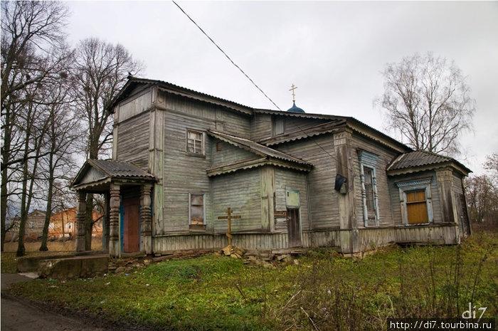 П.Курковицы, женский Пятигорский монастырь, Церковь Тихвинской иконы Божьей Матери