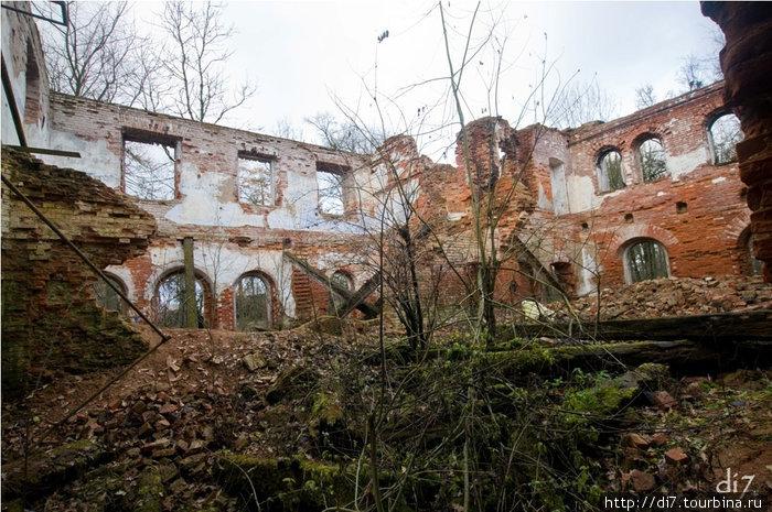 Руины усадьбы Врангеля в п.Торосово.