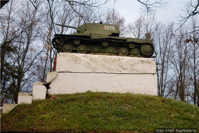 КВ-1 в Ропше