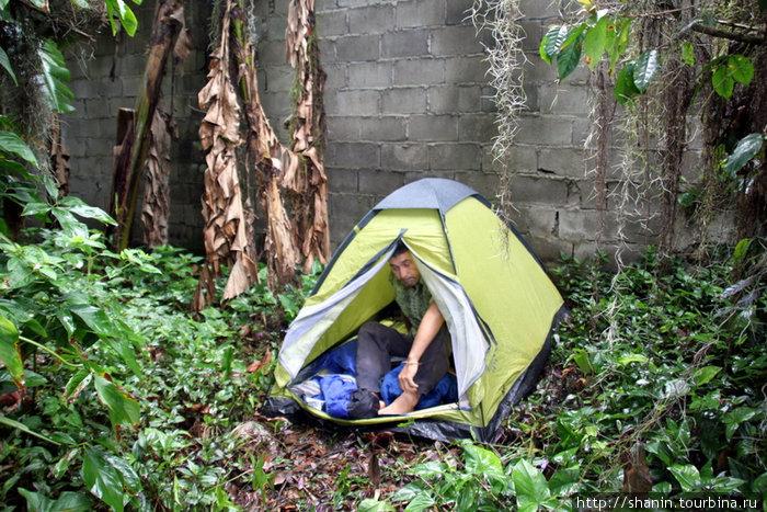 Палатка в Мериде