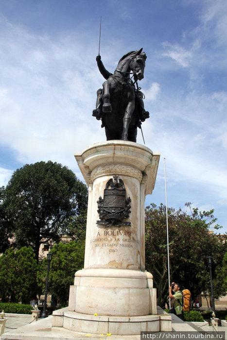 Симон Боливар на коне