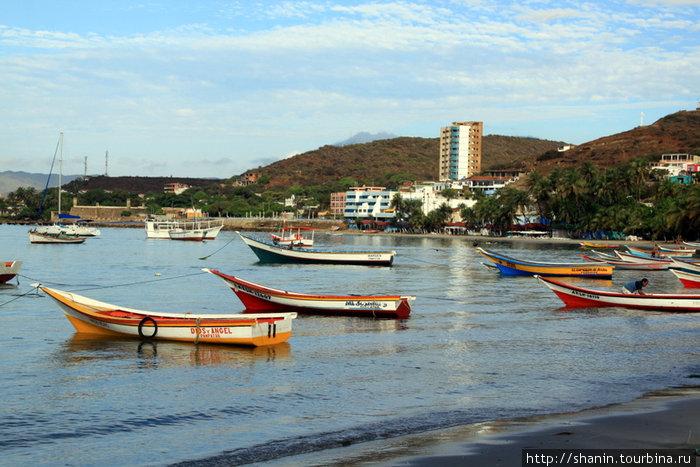 Лодки в Пампатаре