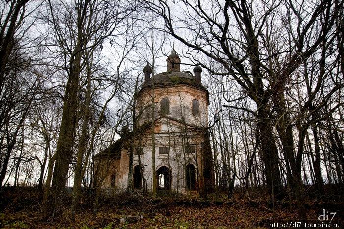 Церковь в д.Заполье