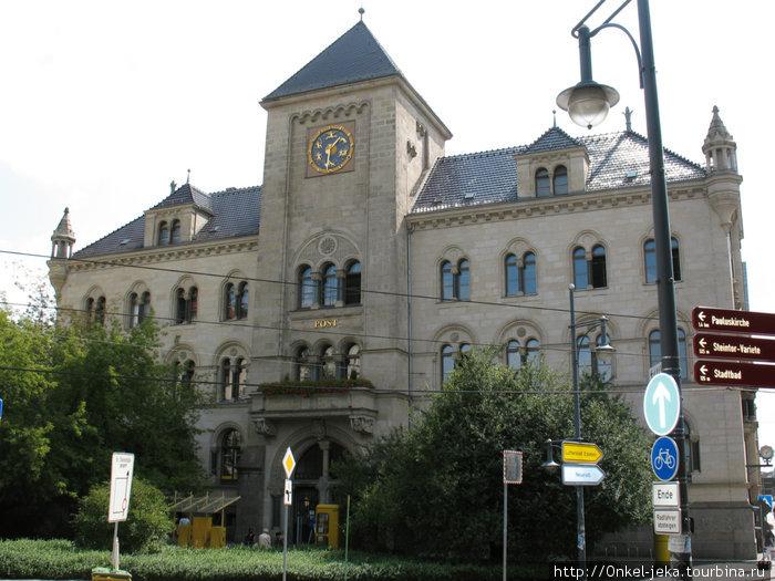 Симпатичный городок. Галле, Германия