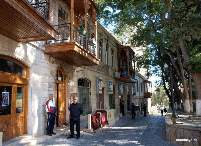 Баку. Старый город Ичяри-Шяхяр