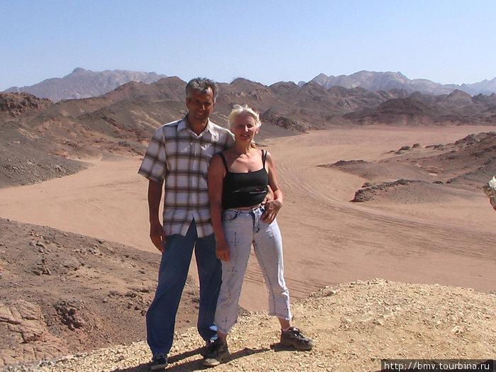 В пустыне у бедуинов.