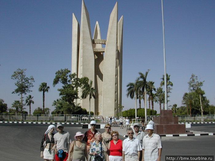 Асуан. Памятник дружбы наших народов.