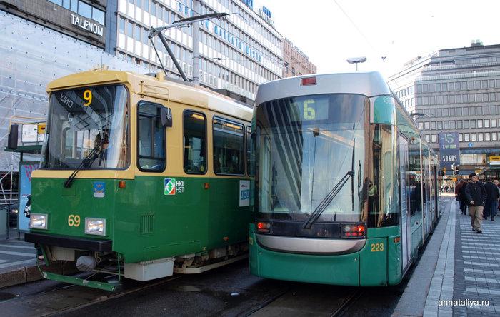 Трамваи Хельсинки