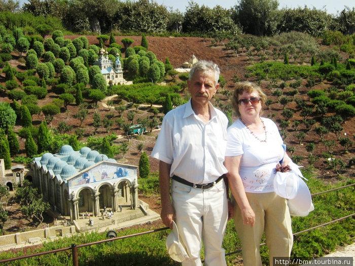 Мини-Израиль. Гефсимандский сад.