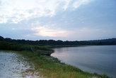 рассвет на озере Виктория