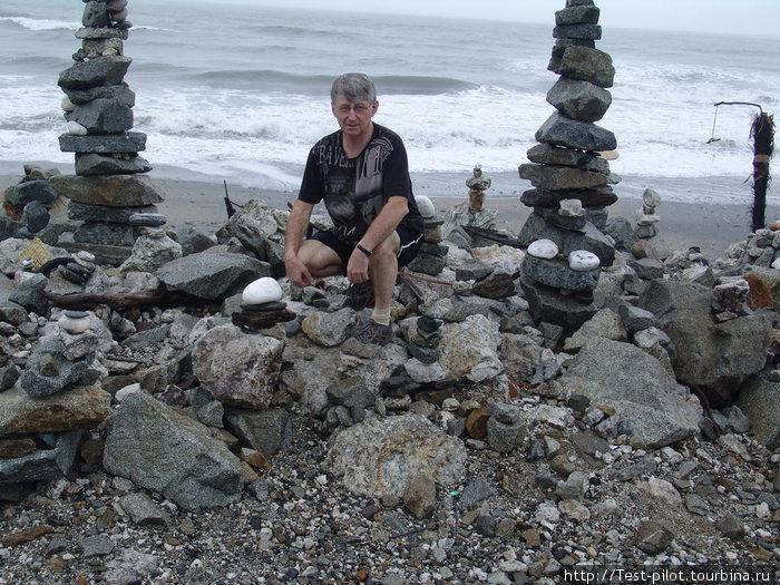 Пирамидки на Тасмановом море.