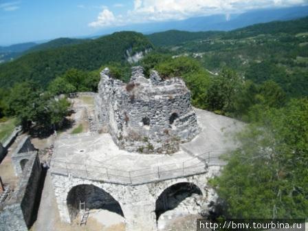 Крепость на Иверийской горе.