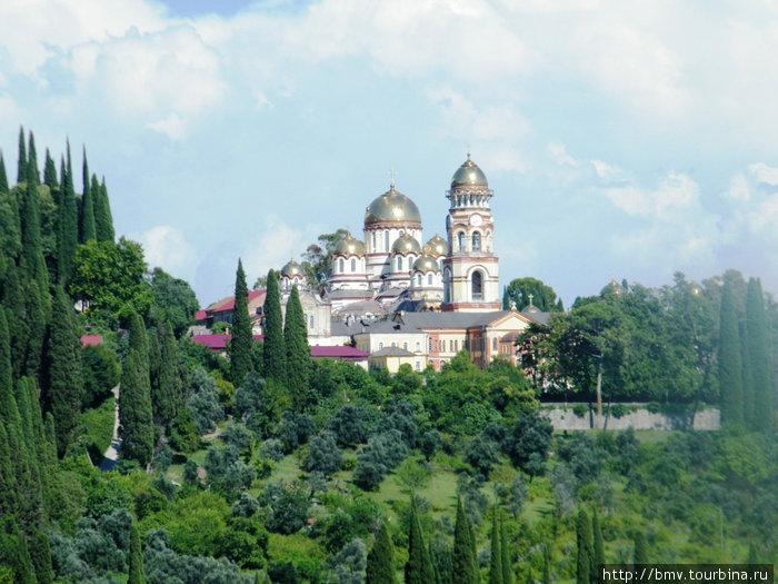 Новоафонский монастырь.