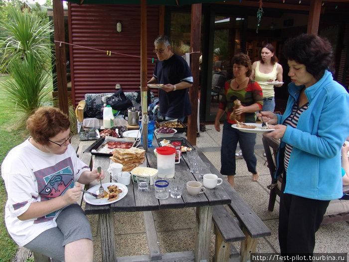Завтрак в семье гордона и Мэри