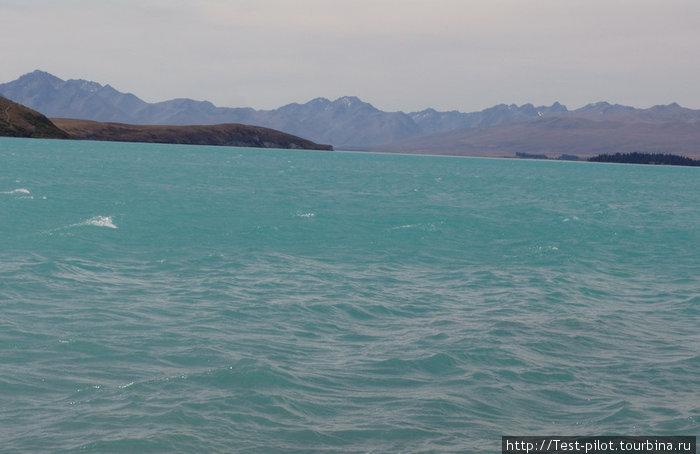 Очередное озеро  — озеро Текапо