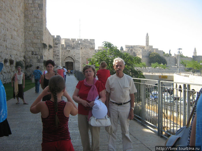 Крепостная стена Старого Иерусалима.