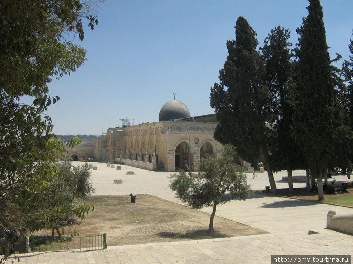Мечеть Аль-Акса на Храмовой горе.