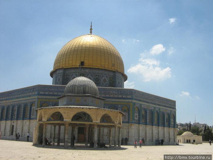 Мечеть на Храмовой горе.