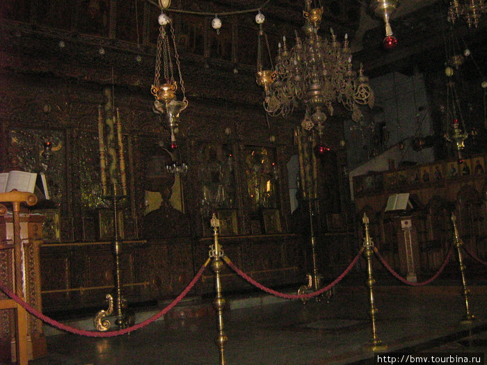 Армянский надел в Храме Рождества в Вефлиеме