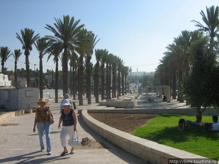 Проголка по Иерусалиму.