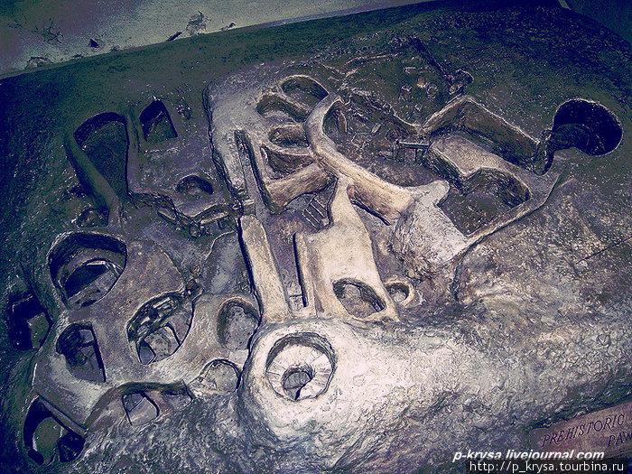 Макет храма в Археологическом музее