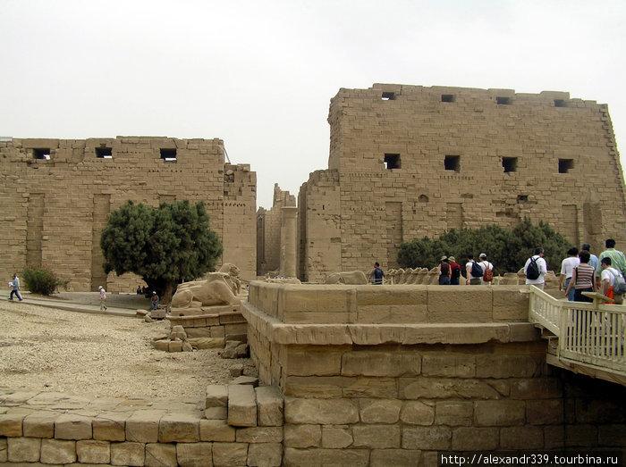 Луксор. Карнакский храм