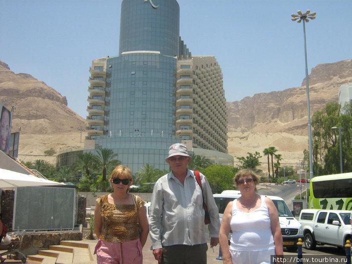 Отели у Мертвого моря.
