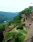 Защитные сооружения замка с внешней стороны