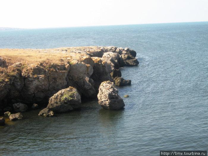 Скалы мыса Казантип.