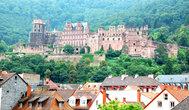 Замок Виттельсбахов на горе Кёнигштуль -символ г.Хайдельберг.