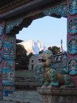 Рассвет в монастыре Тенгбоче